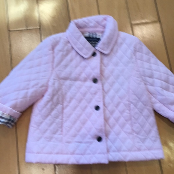 Burberry Other - Burbery pink baby 12months  jacket